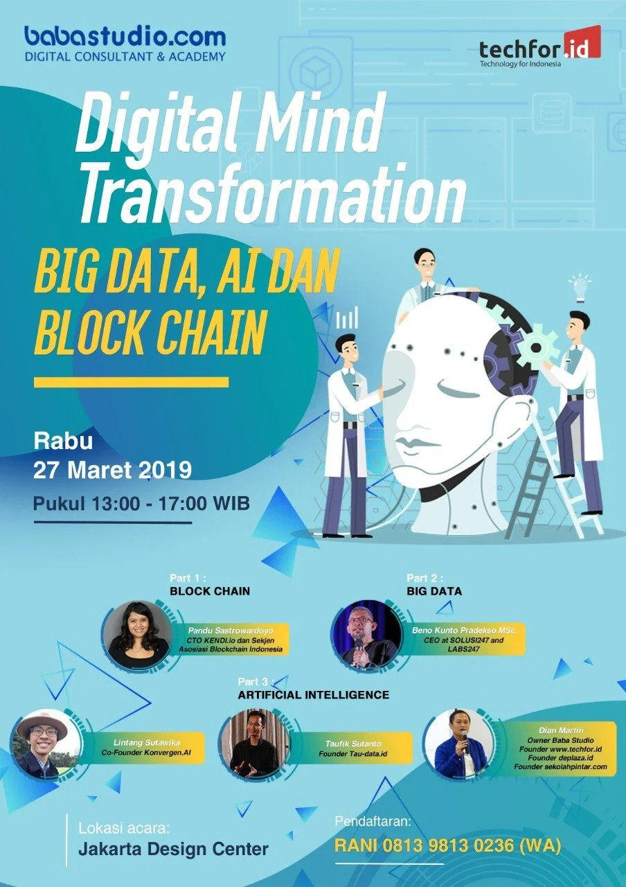 Event digitalmind transformation