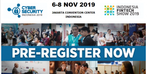 Cyber Security Indonesia & Indonesia Fintech Show 2019